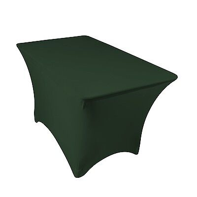 4 ft Dj Table Cover Stretch Scrim Spandex Type Table Skirt F