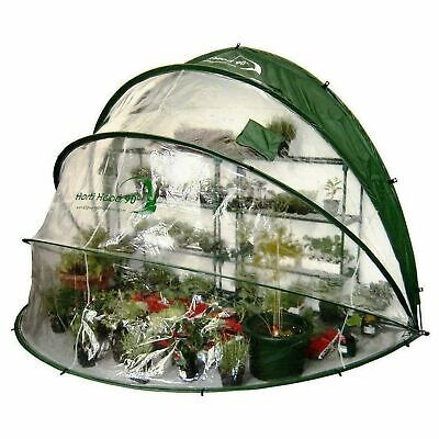 Horti Hood 90 Degree Outdoor Growing Dome Wall Mounted Folding Garden Greenhouse