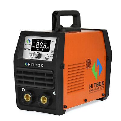 Hitbox Arc Welder 200a 220v Stick Lift Tig Welding Machine Igbt Digital Welder