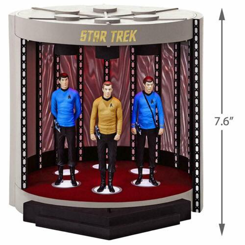 Hallmark 2019 Star Trek Orig Series TRANSPORTER Sound & Light