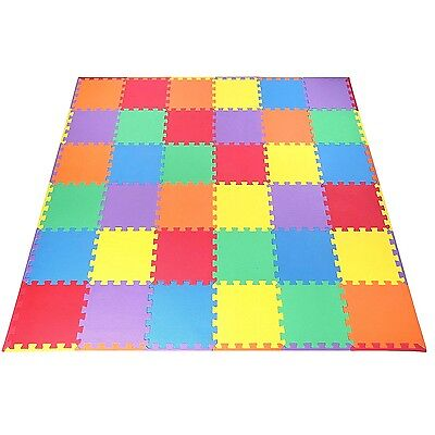 Kids Foam Floor Play Mat Puzzle 36pcs 12