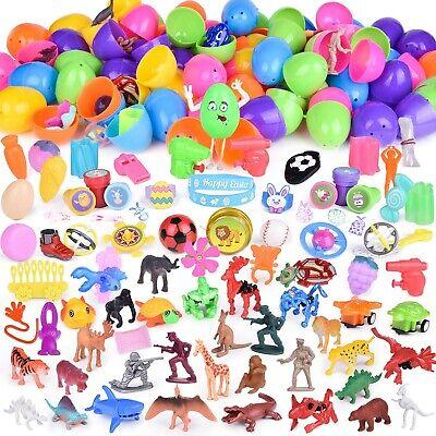 100PCs Easter Egg Stuffers Mini Toys Filled Easter Eggs, Easter Basket Stuffers  - Easter Basket Stuffers