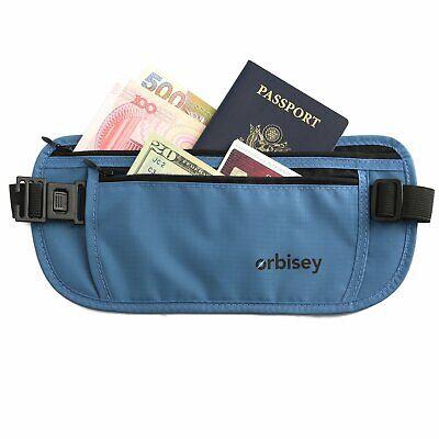 travel hidden waist body wallet money belt