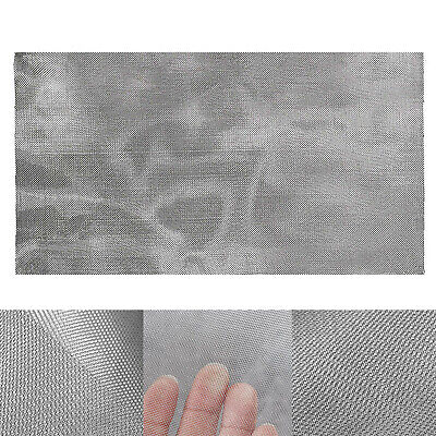 200 Mesh 304 Stainless Steel Fine Pollen Dry Ice Screen 12x24 Woven Wire Silver