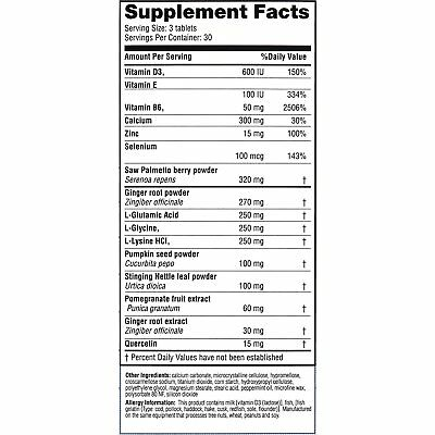 Real Health Laboratories Prostate Formula 30 Day Supply, 90 Count 5