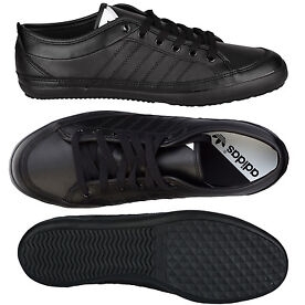 adidas Originals Mens Nizza Lo Remo Trainers In Black From Get The Label