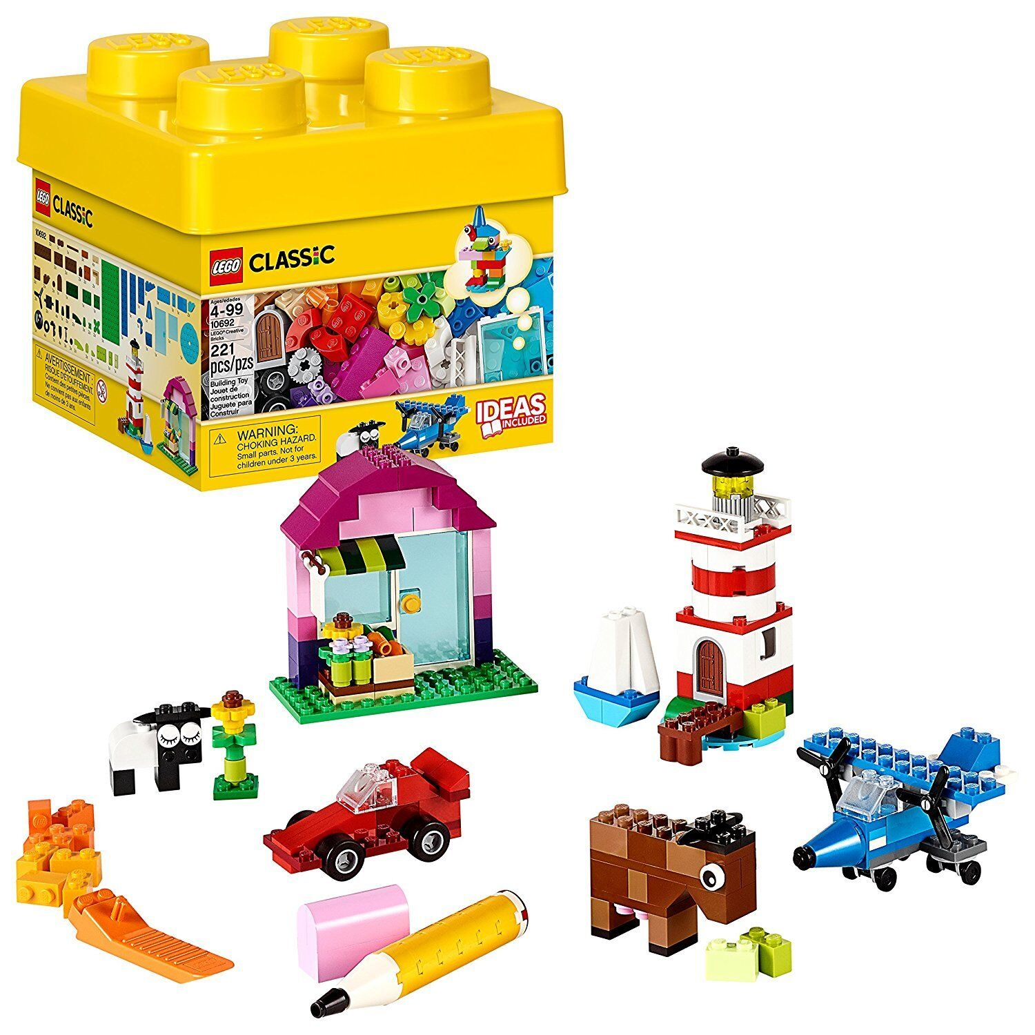Lego Classic Kids Toys for Boys and Girls Legos Blocks Build
