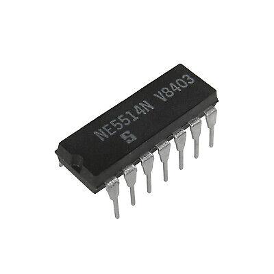Ne5514n Quad Op Amp Signetics Pdip-14