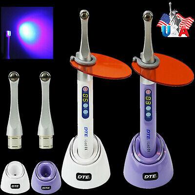Woodpecker Dte Dental Curing Light 1 Sec Resin Cure Lamp 2300mwcm Metal Head