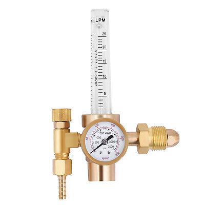 Mig Tig Flow Meter Regulator Argon Co2 Gas Welder Welding Weld Regulator Gauge 1