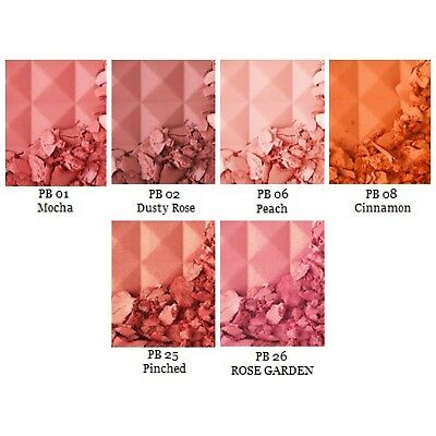 Low Price Cosmetics (6 NYX Cosmetics Powder Blushes-PB01,PB02,PB06,PB08,PB25,PB26-One Low)