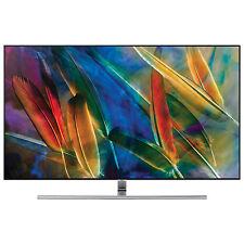 "Samsung 65"" 4K UHD HDR QLED Tizen Smart TV (QN65Q7FAMFXZC) - Sterling Silver"