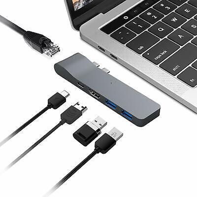 5-Port USB C Hub HDMI USB A 3.0 Ports Thunderbolt 3 for MacBook Pro/MacBook Air