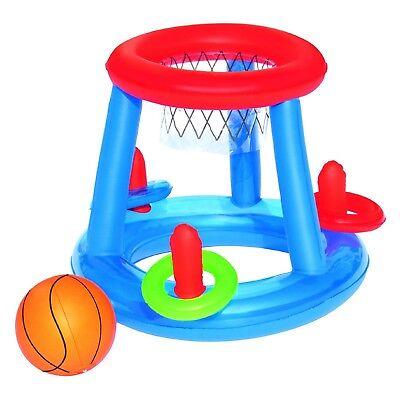 sbares schwimmendes Pool Wurfspiel Basketball Korb 60cm (Aufblasbare Basketball)