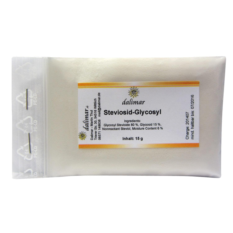 Dalimar Stevia Steviosid - Steviolglycoside Stevia weiß Pulver kaufen 15 g