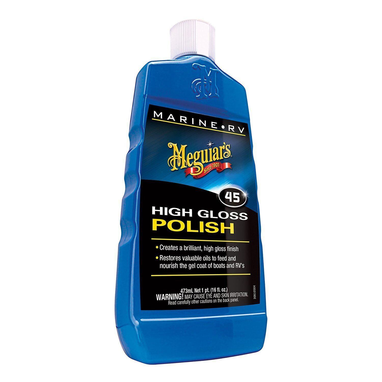 Marine Rv Polish Gloss Enhancer 16oz Bottle Fiber Glass Paint Surface Protection New For Sale