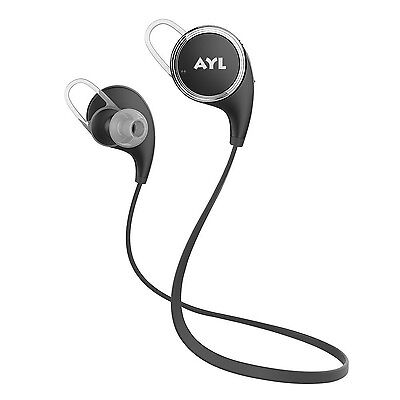 AYL Bluetooth Headphones V4.1 Wireless Sport Stereo In-Ear Noise Cancelling S...