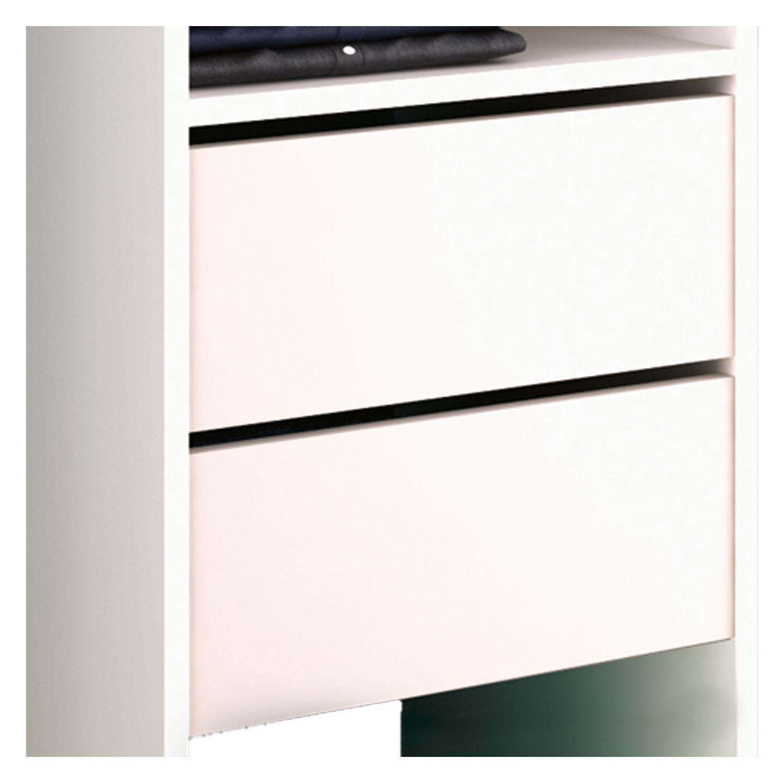 kleiderschrank 5578 offen begehbar regal kleiderst nder schrank wei garderobe eur 99 80. Black Bedroom Furniture Sets. Home Design Ideas