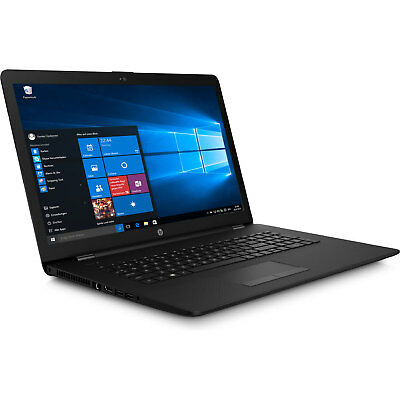 Notebook HP AMD A6 Dual Core 2,9GHz 17.3 8GB 1TB Windows 10 Pro Laptop Computer