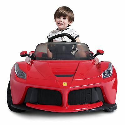 Electric Cars For Kids Ride On Ferrari Sports Motorized Vehicle 12V RC Toddler