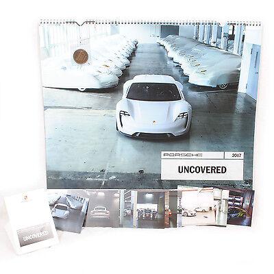 Porsche Uncovered 2017 Calendar (Genuine Porsche)