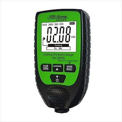 Coating Thickness Gauge Cm-205fn Best Digital Meter For Automotive Paint Thick