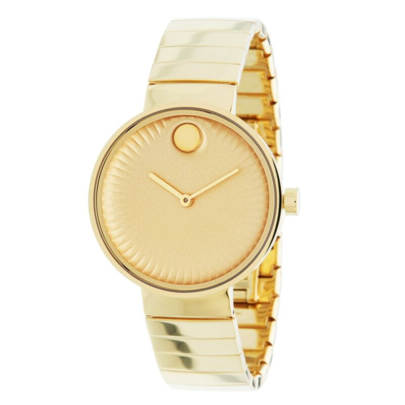 Movado 3680014 Women Edge Gold Quartz Watch