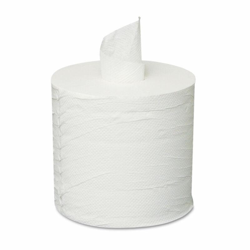 GENERAL SUPPLY Centerpull Towels 2-Ply White 6 Rolls/Carton 203