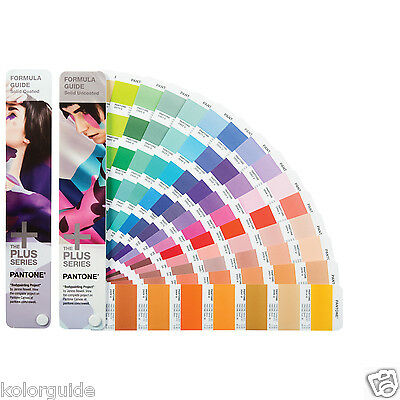 Pantone Formula Guide Solid Coated & Solid Uncoated GP1601N Year 2017-2018