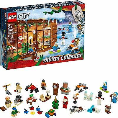 LEGO CITY 2019 Holiday Advent Calendar Building Kit 60235