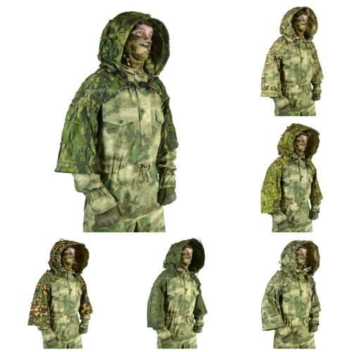 """Disguise Sniper Coat """"Cobra"""" / Viper Hood Ghillie Suit Russian Army"""