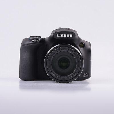 Brand New Canon Powershot SX60 HS Digital Camera 16.1MP Black