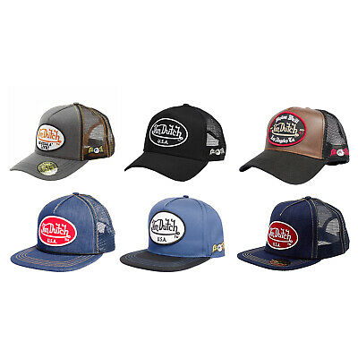 Von Dutch Unisex Trucker Style Hat - One Size