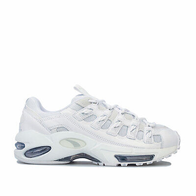 Mens Puma Cell Endura Reflective Trainers In Puma White