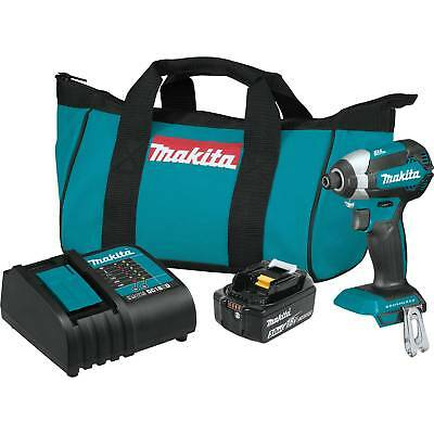 Makita XDT131 18V LXT Lithium_Ion Brushless Cordless Impact Driver Kit (3.0Ah)