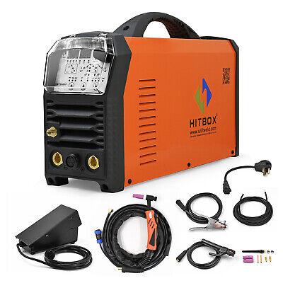 Hitbox Tig Welder Ac Dc 110v 220v Tig Arc Mma Welding Machine Pfc Weld Aluminum