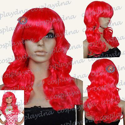 Strawberry Shortcake Cosplay Wigs Kids Children Halloween Wigs Toddlers to - Strawberry Shortcake Wigs