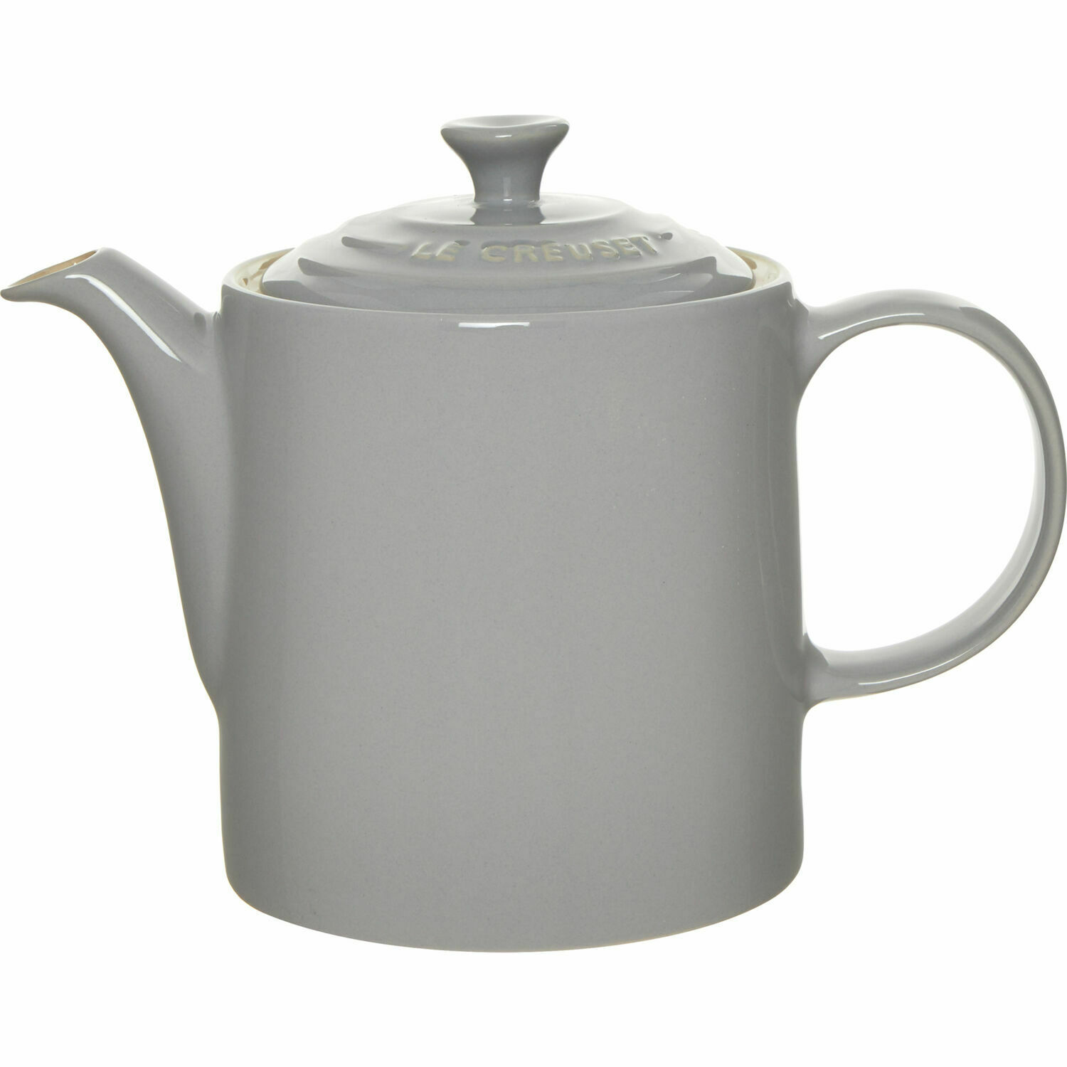 Le Creuset Light Grey Grand Teapot 1.3L