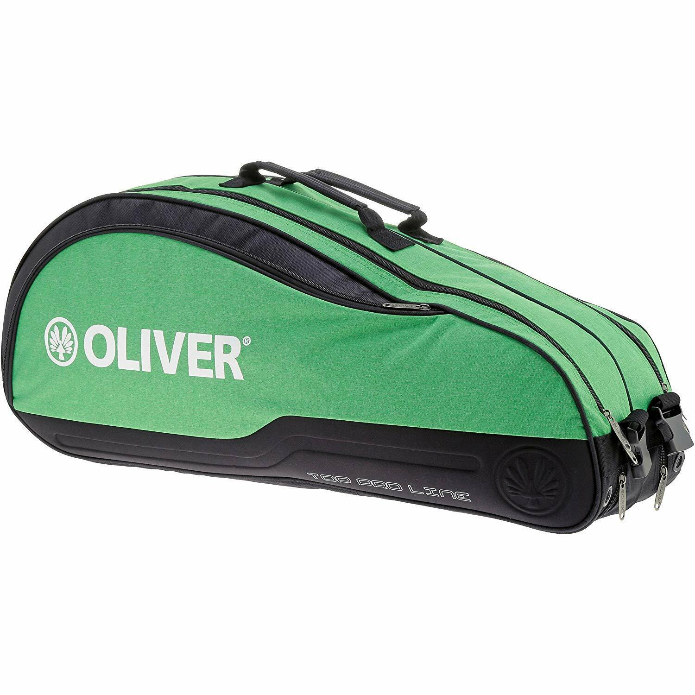 Oliver Tennistasche Top Pro Line Thermobag schwarz/grün, Neu & Portofrei