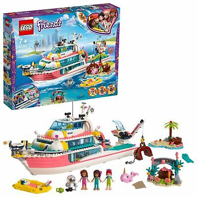 LEGO Friends Rescue Mission Boat Toy Sea Life Set 41381