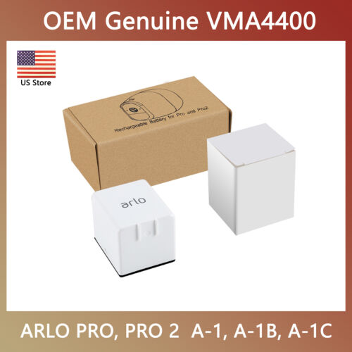 OEM Genuine Battery for ARLO PRO, PRO 2, Extra Rechargeable LIGHT Camera VMA4400