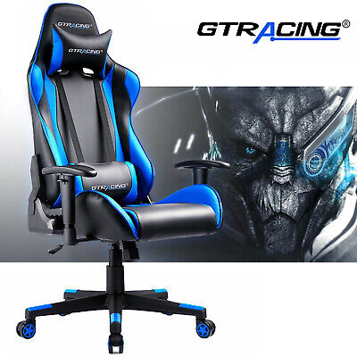 Gaming Chair Gtracing Executive Leather High Back Office Recliner Chair Pu 150kg