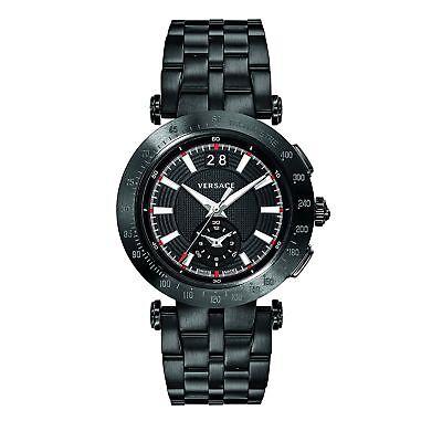 Versace VAH040016 Men's V-RACE Black Quartz Watch