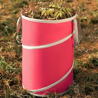 (Reusable Gardening Lawn Leaf Bags by Collapsible Canvas Garden Bag Portable Yard)