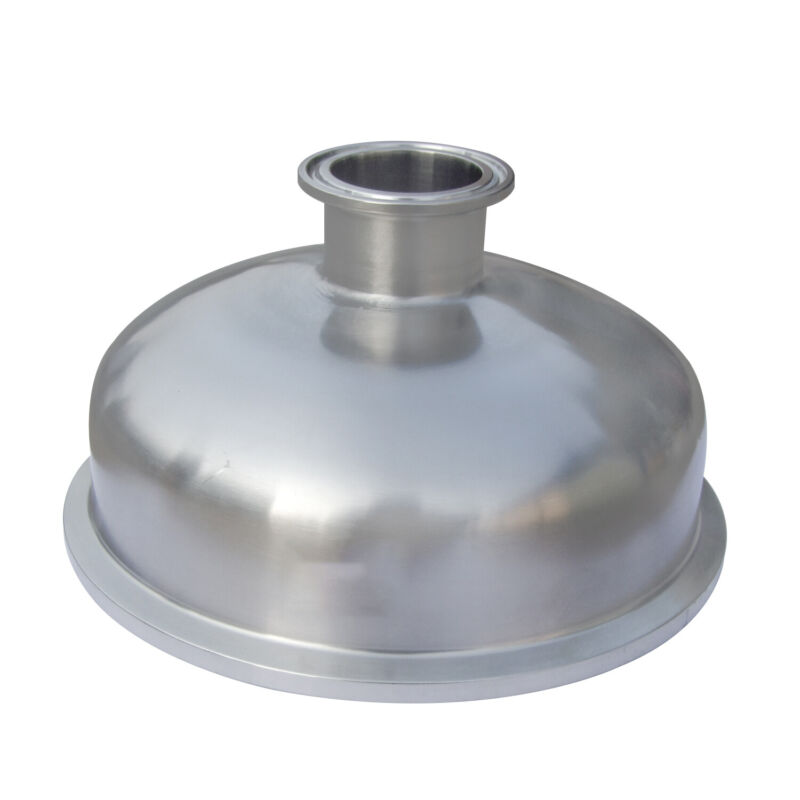 "HFS(R) 1.5"" x 12"" Concentric Reducer Stainless Steel 304"