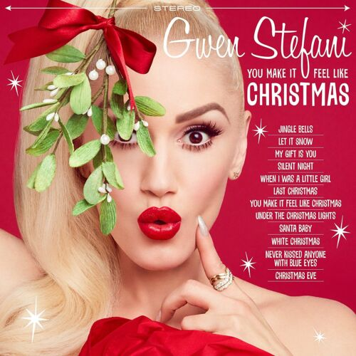 Gwen Stefani - You Make It Feel Like Christmas CD with Exclusive Photos (24)