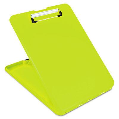 Saunders Slimmate Storage Clipboard 12 Clip Cap 8 12 X 11 Sheets Hi-vis