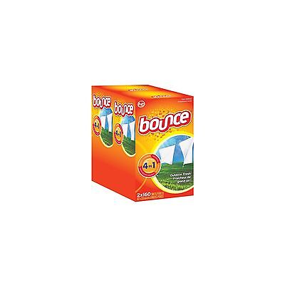 Bounce Dryer Sheets Fabric Softener  320 ct Outdoor Fresh Scent