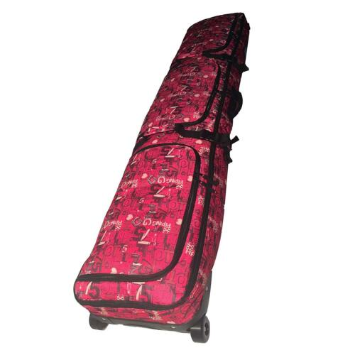 как выглядит Snowboard Bag Padded Wheeled Air Travel Three Independent Compartment Waterproof фото
