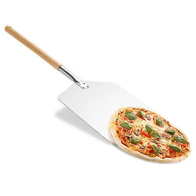 Pizzaschaufel Metall Alu Pizzaheber Pizzawender Ofenschaufel Brotschieber XL